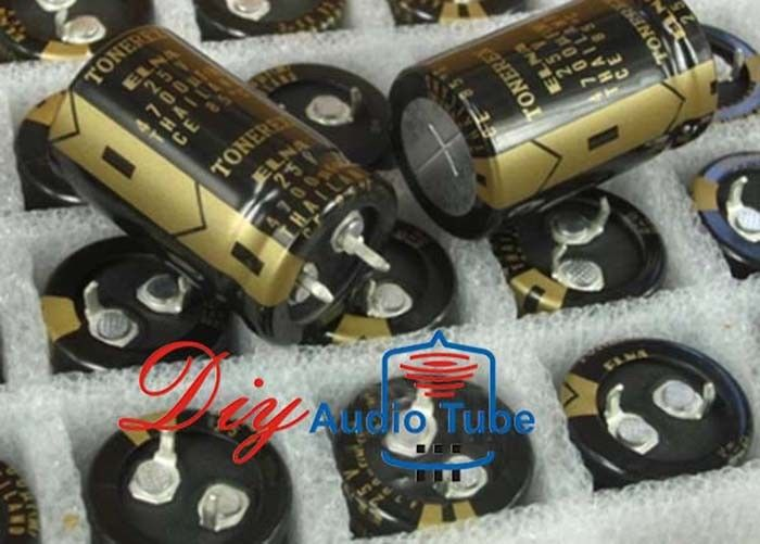 4700UF Audio Electrolytic Capacitors 25V Rated High Stability TONEREX Series