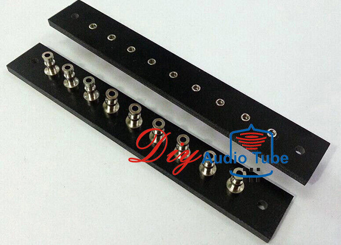 Nine Pins Guitar Amp Circuit Board , Multiple Colors Insulated Turret Board Amp