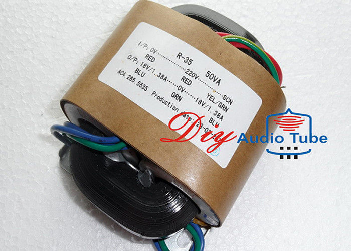 50W Tube AMP Transformer Double 24V Double 12V Out Voltage For Electronic Usage