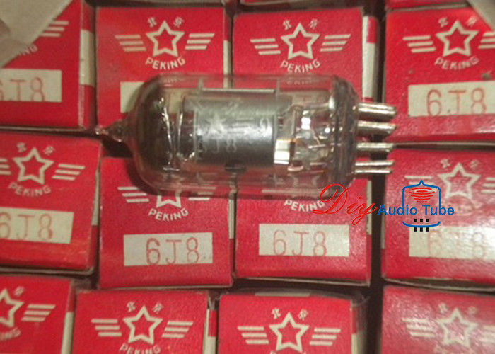 NOS 9pin B9A China Tube 6J8 Replace EF86 Vacuum Tube With CE Certification